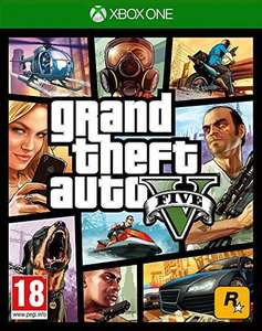 Grand Theft Auto GTA V (Five 5) Xbox One Game (USE CODE) £13.31 365games