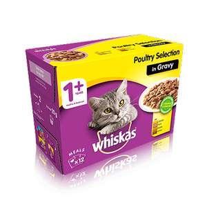 Co-Op Whiskas 12pouch 100g box reduced to £3 in CoOp also will be £2 with £1 coupon inside as well