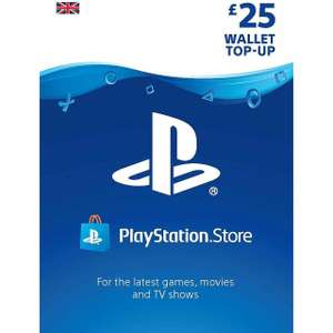 Sony PlayStation PSN £25 Wallet Top-Up £20 OR £50 Top-Up for £39.20 from AO eBay using code PURE20