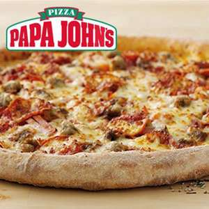 Papa Johns XXL pizza £7.99 Small £1.99 with wowcher (Derby)