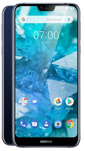 """Nokia 7.1 Sim Free - Blue (32GB / 3GB RAM / Snapdragon 636 / 5.8"""" Screen) £149.99 Delivered at fonehouse"""