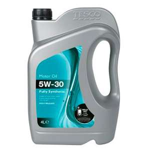 5W 30 - Fully Synthetic Car Oil - 2 Litres @ Tesco In-store £3