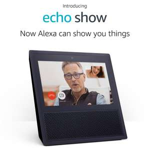 Certified Refurbished Echo Show (Previous Generation - 1st Gen) - £179.99 / £79.99 with Prime trial signup @ Amazon