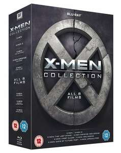X-Men 8 Film Collection Blu-ray Like new condition £8.49 delivered @ thetradeinn ebay