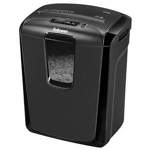 Fellowes Powershred M-8C 8 Sheet Cross Cut Personal Shredder With Safety Lock £54.33 @ Amazon.co.uk