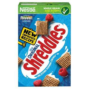 Nestle Shreddies Original Cereal 675G £1.50 was £3  @ Tesco
