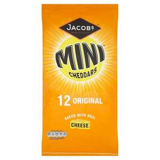 Jacobs Mini Cheddars 12x25g £1.50 @ Tesco