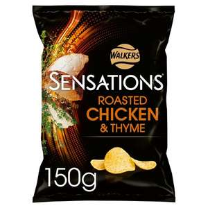 Sensations All Flavours including Poppadoms & Chilli Peanuts 99p @ Tesco