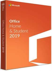 Office Home & Student 2019 download £12.99 via Electronic First