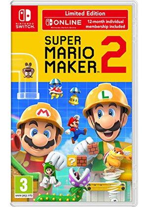 Super Mario Maker 2 Limited Edition (Nintendo Switch) - £47.85 - Base