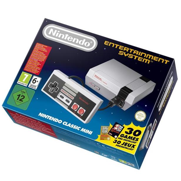 Nintendo Classic Mini NES for £23.97 @ Currys (Free c&c)