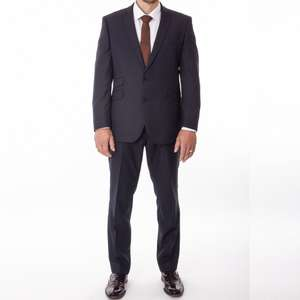 Men's Suit Jeff Banks Tailored Fit Navy Blue Wool - £49.99 @ tom-percy-suits ebay