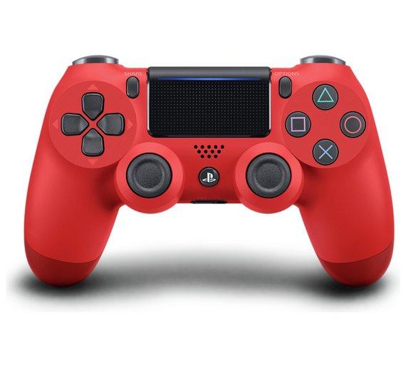 Sony PlayStation DualShock 4 Controller V2 Red (Manufacturer Refurb) £25.59 @ Ebay / electrical-deals + 12 month warranty