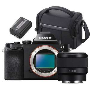 Sony a7 Mirrorless Camera Body with 50mm f/1.8 Lens, Sony Bag and Spare Battery £749 (£599 after cash back) @ Jessops