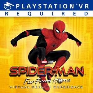 Spider-Man Far From Home PSVR Experience now available Free to download @ PSN