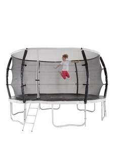 10ft Titan Super Tube Trampoline, Enclosure, Ladder £128.98 with code @ Very