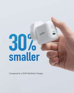 Anker 30W Power IQ 3.0 USB C Charger, PowerPort III mini, Compact Power Delivery Type C Charger
