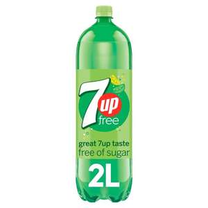 7 Up Light Lemon And Lime 2 Litre Bottle @ Tesco - £1