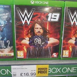 Wwe 2k19 Xbox One And Playstation 4 £16.99 Smyths Instore