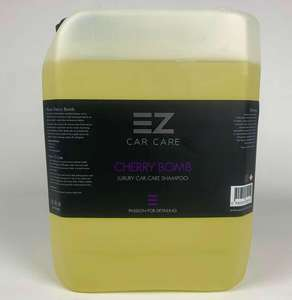 Cherry Bomb - Luxury Car Care Shampoo *Limited Edition* Yellow 5 Litres £18 delivered @ EZ Car Care