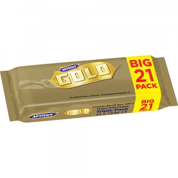 21 Pack McVities Gold Bars £1.50 @ Sainsbury's