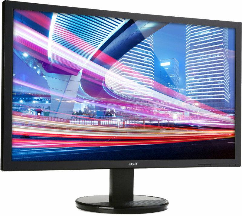 """Acer 21.5"""" Monitor K222HQL LED VGA - £49.80 @ Ebuyer / Ebay"""