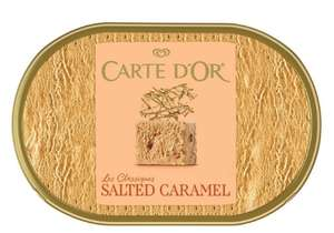 Carte D'or Classics Salted Caramel Ice Cream Dessert 1L £1.50 @ Morrisons. Other flavours also available - More in OP