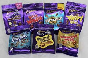Cadbury Treat Bags various £1 (was £1.50) @ Tesco