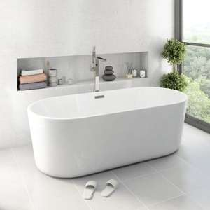 Mode Tate freestanding bath from Victoria Plum for £319.20 with Free Delivery at VictoriaPlum.com