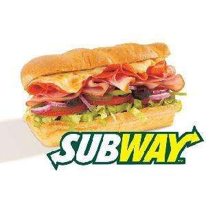 """Wednesday deal at Subway from Metro cut out the coupon to use in-store - Two 6"""" subs £5 / £3.79 meal deal / Two for £7.99"""