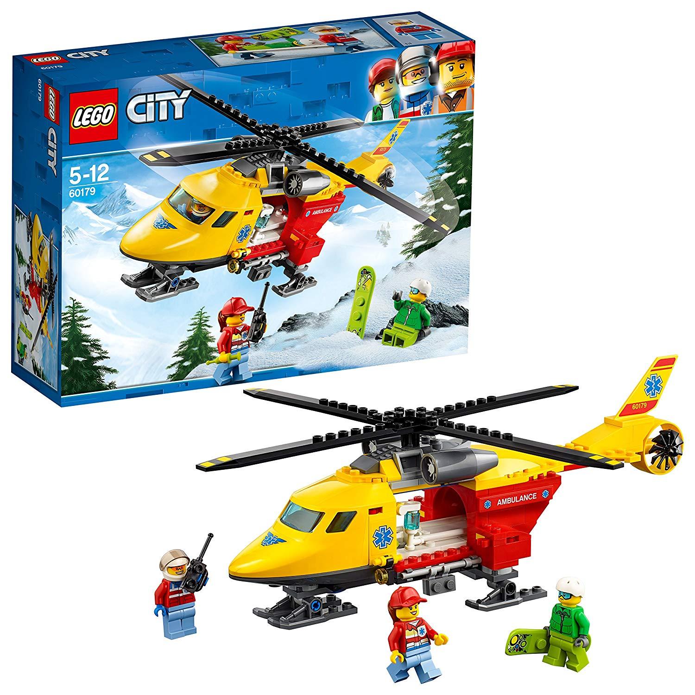 LEGO 60179 City Great Vehicles Ambulance Helicopter £10 Prime / £14.49 non Prime @ Amazon