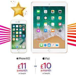 "Sky Mobile Apple IPad 32gb 9.7"" £0 up front £10pm for 48 month (Swap 36 contract) and 2GB data sim (PAYG calls and texts) inc £480 total"