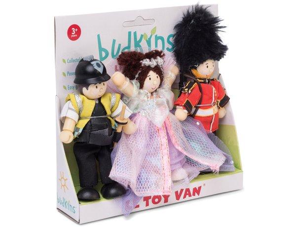 Budkins Le Toy Van Dolls at Poundland - £1