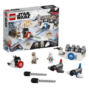LEGO 75239 Star Wars Action Battle Hoth Generator Attack £14.99 @ Amazon (£19.48 Non-Prime)