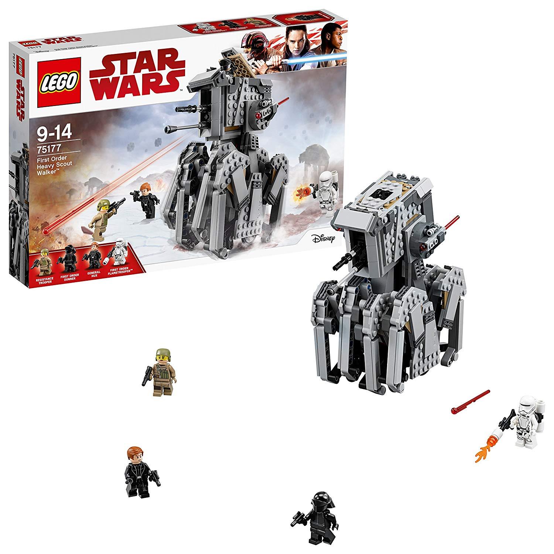 LEGO Star Wars The Last Jedi 75177 First Order Heavy Scout Walker £32.61 @ Amazon