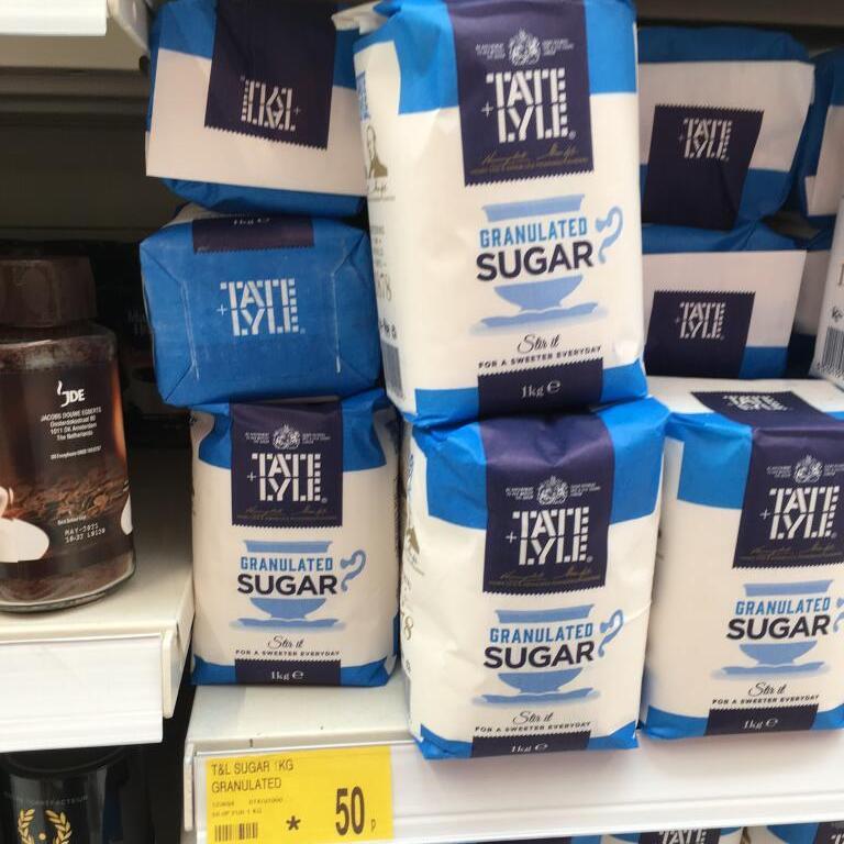 Tate + Lyle 1Kg Granulated Sugar £0.50 @ B&M stores