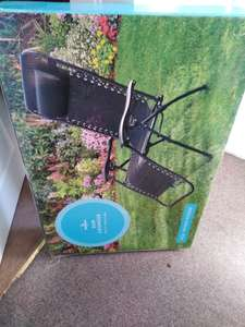Morrisons Sun lounger reduced to £15 instore