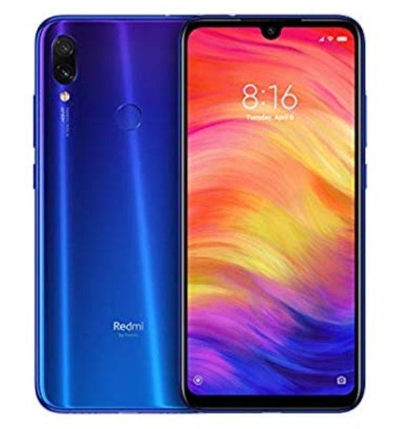 Xiaomi Redmi Note 7 Dual SIM 128GB 4GB RAM Blue £197.81 @ Amazon
