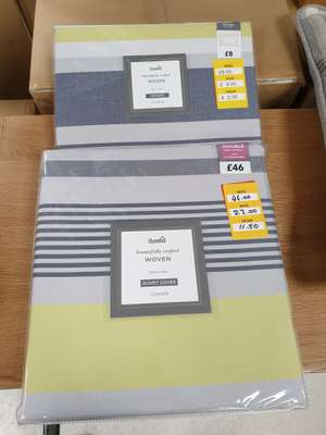 Dunelm CONNER Dovet Cover 100% cotton (double) £11.50