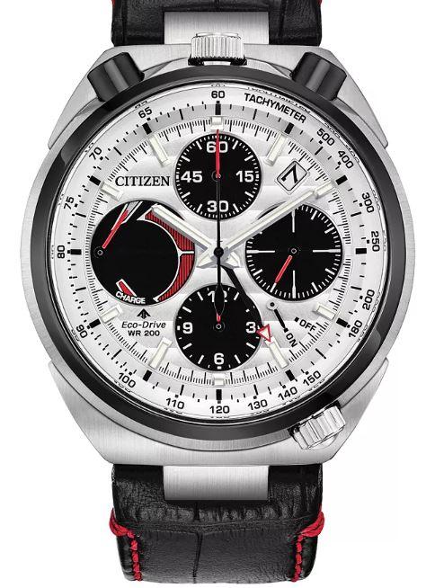 Citizen Men's Eco-Drive Tsuno Chronograph Strap Watch - £323 at H Samuel