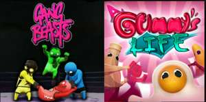 Gang Beasts & A Gummys Life on sale (Steam) - £11.99