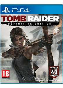 Tomb Raider Definitive Edition (PS4) for £9.95 Delivered @ Base