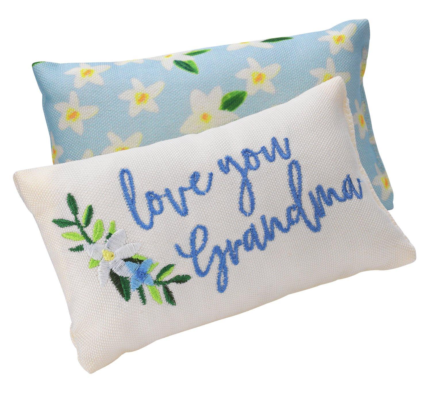 I Love Grandma cushion 45p @ Argos.
