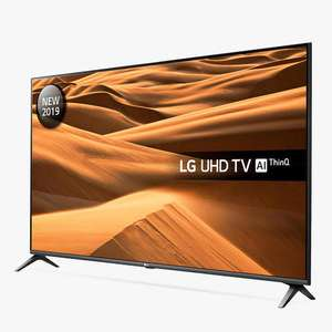 """LG 65UM7510PLA LED HDR 4K Ultra HD Smart TV, 65"""" with Freeview Play/Freesat HD - £899 @ John Lewis & Partners"""