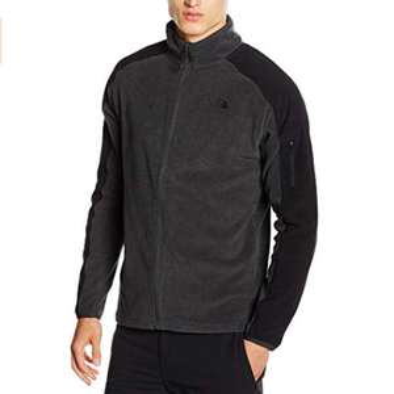 North Face Mens Glacier Delta fleece Jacket - Dark Grey Heather XL only £30.79 Amazon