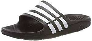adidas Duramo Slide, Men's Open Toe Sandals, Black (Black/White/Black), 6 UK £8.47 Amazon ADD ON DEAL