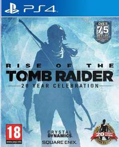 Rise of the Tomb Raider: 20 Year Celebration (PS4) - £9.99 Delivered @ GeekStore
