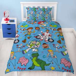 Toy Story 4 Single Reversible Duvet Set  @ Sold by Kidco and Fulfilled by Amazon (£14.99 Prime / +£4.49 for non prime)