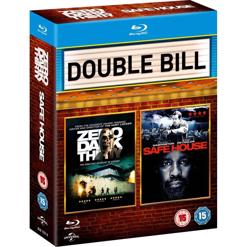 Zero Dark Thirty / Safe House (Blu-ray) - £2.99 Delivered @ Zoom
