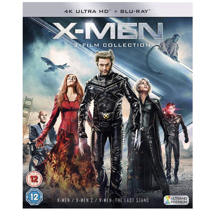 X-Men Trilogy 4K/Blu Ray - £19.49 (Prime) / £22.48 (non Prime) at Amazon